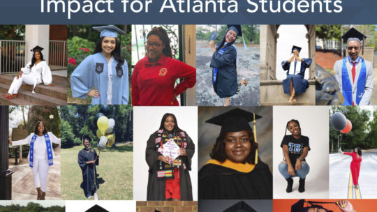 Believe. Expect. Achieve. Celebrating Five Years of Impact for Atlanta Students