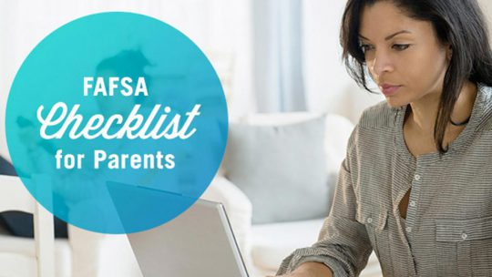 FAFSA Checklist for Parents